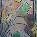 Kiera Bennett | Studio Heap | 2017 | Oil on canvas | 55x45cm