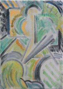 Kiera Bennett | Trance (Grey) | 2014 | Oil on canvas | 35x25cm