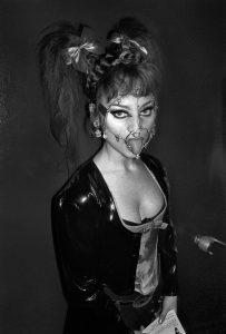 Derek Ridgers | Christine, Torture Garden | 1997 | Silver bromide print