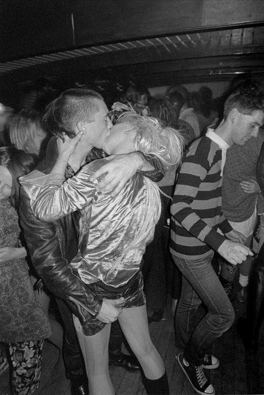Derek Ridgers | Psychic TV Gig | 1986 | Silver bromide print