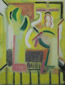 Kiera Bennett | Studio Hands As Sculptures | 2017 | Oil on canvas | 45x35cm