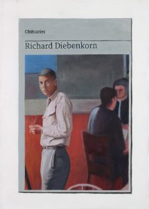 Hugh Mendes | Obituary: Richard Diebenkorn | 2017 | Oil on linen | 35x25cm