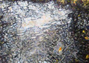 Dominic Shepherd | Five Leaves Left | 2018 | Oil on linen | 40x56cm