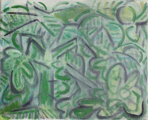 Kiera Bennett | Full Landscape | 2018 | Oil on canvas | 45x55cm