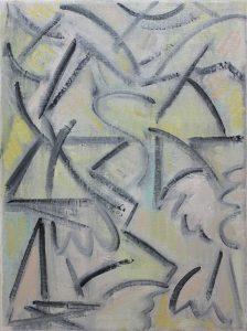 Kiera Bennett | Insomnia and Wishing | 2018 | Oil on canvas | 40x30cm