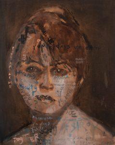 Sam Jackson | Hymn To Beauty | 2018 | 100x80cm