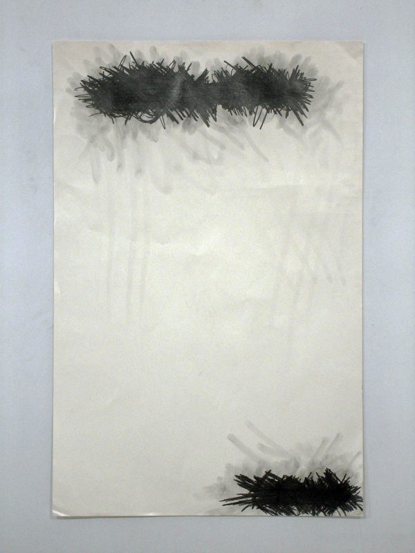 Michael Scoggins | Unsaid, March 3rd 2011 | 2011 | Graphite on archival newsprint | 101.6x66cm