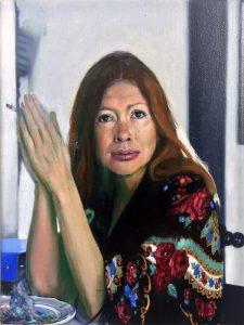 Gavin Nolan   Adjoin Odin   2018   Oil on canvas   24x18cm