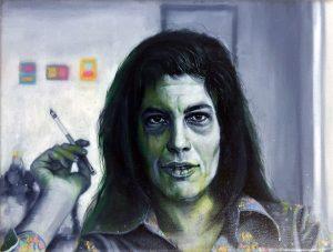 Gavin Nolan   Guns sonata   2018   Oil on canvas   18x24cm