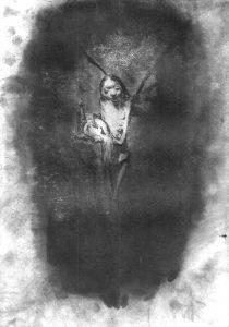 Josef Ofer | Untitled 137 | 2017 | Ink on paper | 29.7x21cm