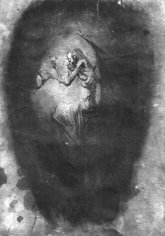 Josef Ofer   Untitled 139   2017   Ink on paper   29.7x21cm