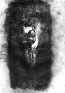Josef Ofer | Untitled 8 | 2018 | Ink on paper | 29.7x21cm