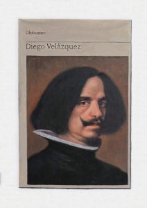 Hugh Mendes | Diego Velázquez | 2018 | Oil on linen | 35x25cm