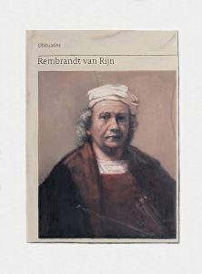 Hugh Mendes | Obituary: Rembrandt van Rijn | 2018 | Oil on linen | 40x30cm