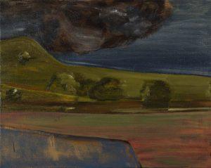 Peter Ashton Jones | The Storm | 2018 | Oil on canvas | 41x52cm