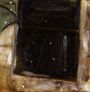 Peter Ashton Jones | Twenty Snowy Mountains | Oil on canvas | 32x32cm