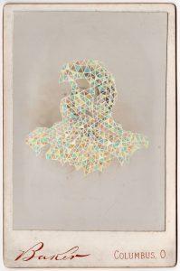 Tom Butler   Baker   2018   Gouache on Albumen print   16.5×10.8cm