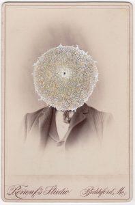 Tom Butler | Renouf | 2018 | Gouache on Albumen print | 16.5x10cm