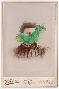 Tom Butler | Warren | 2018 | Gouache on Albumen print | 16.5×10.8cm