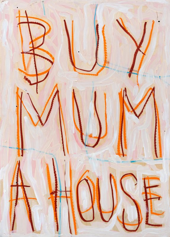 Thomas Langley | Mummy's Boy | 2018 | Oil on birch ply | 70x50cm