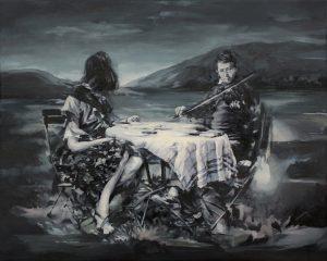 Concha Martinez Barreto | S/t 15 | 2018 | Oil on linen | 40x50cm