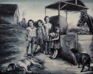 Concha Martinez Barreto | S/t 16 | 2019 | Oil on linen | 40x50cm