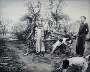 Concha Martinez Barreto | S/t 18 | 2019 | Oil on canvas | 40x50cm