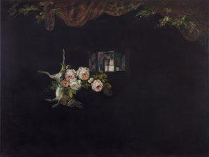 Emma Bennett | Four Years | 2019 | Oil on canvas | 91.5x122cm