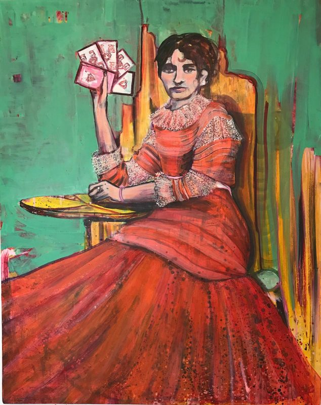 Tamsin Morse | Full-House | 2018 | Oil on canvas | 122x90cm