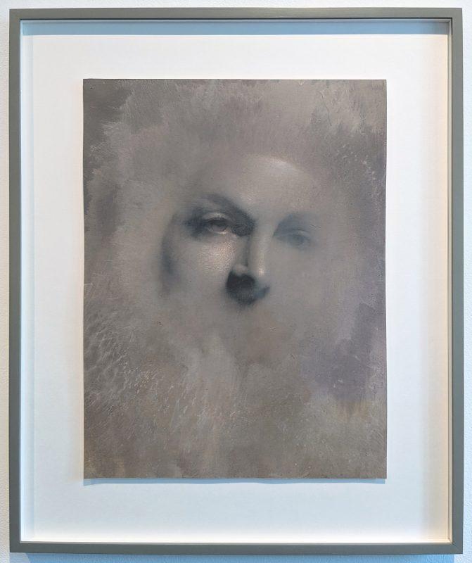 Gavin Tremlett | Skeleton Key | 2018 | Oil, graphite on paper | 43x33cm