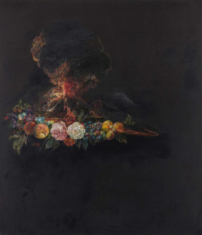 Emma Bennett | Nuée Ardente | 2019 | Oil on canvas | 72x62cm