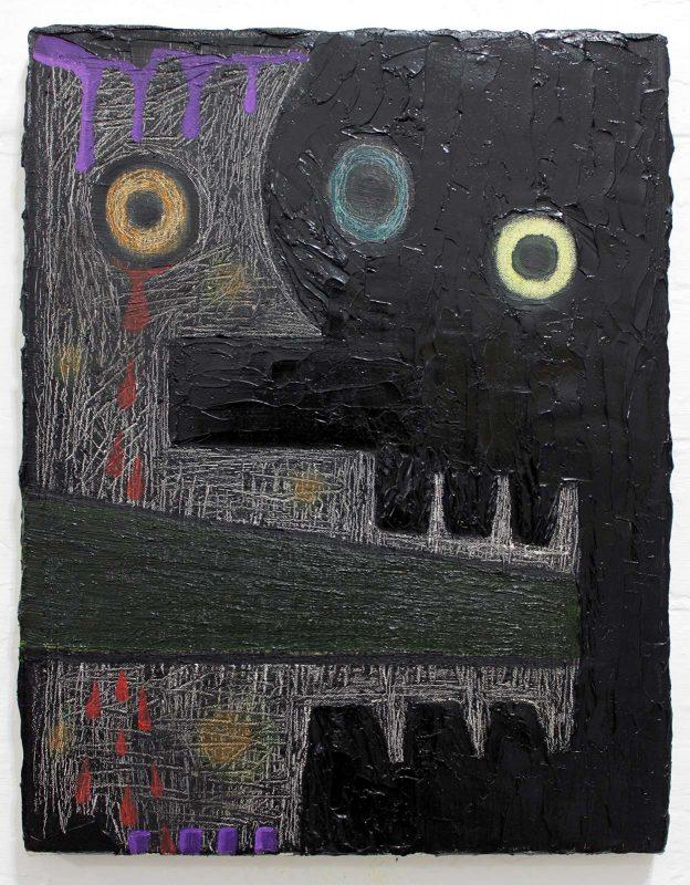 Alex Gene Morrison | Special Move | 2019 | Oil on canvas | 45x35cm
