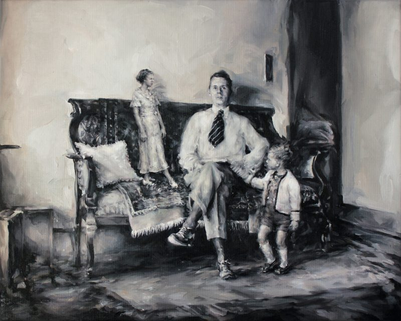 Concha Martinez Barreto | St/25 | 2020 | Oil on linen | 40x50cm