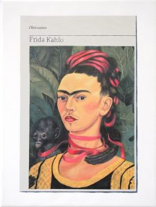 Hugh Mendes | Obituary: Frida Kahlo | 2019 | Oil on linen | 40x30cm