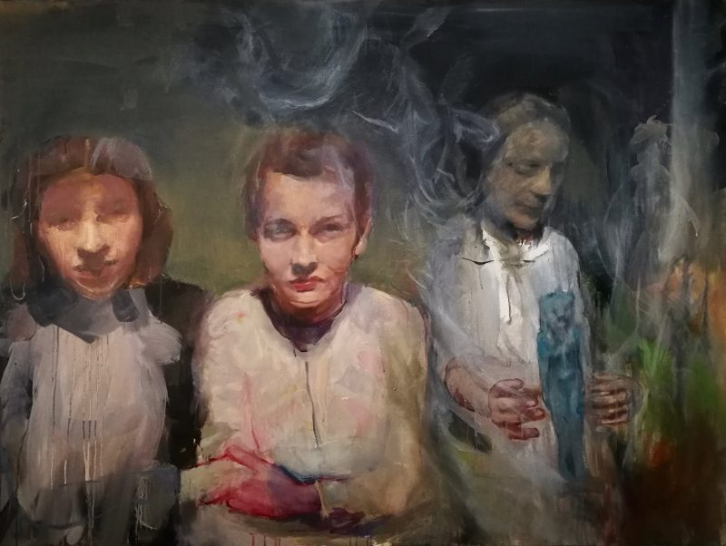 Geraldine Swayne | Bad Servant | 2020 | Oil on canvas 91.5x121cm