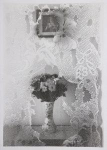Michael Boffey | Flowered Fancy | 2020 | Silver gelatin on watercolour paper | 29.7x21cm