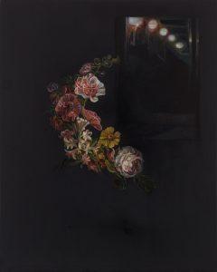Emma Bennett | And I Follow | 2020 | Oil on oak panel | 25x20cm