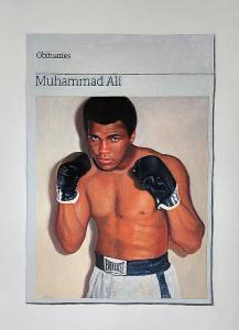 Hugh Mendes | Obituary: Muhammad Ali | 2016 | Oil on linen | 35x25cm