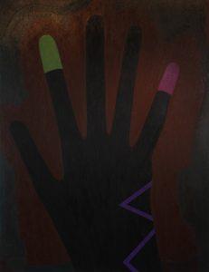 Alex Gene Morrison | Shadow | 2014 | Oil on canvas | 215x164cm
