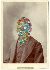 Tom Butler | CG Anderson | 2014 | Gouache on Albumen print | 16.5×10.5cm