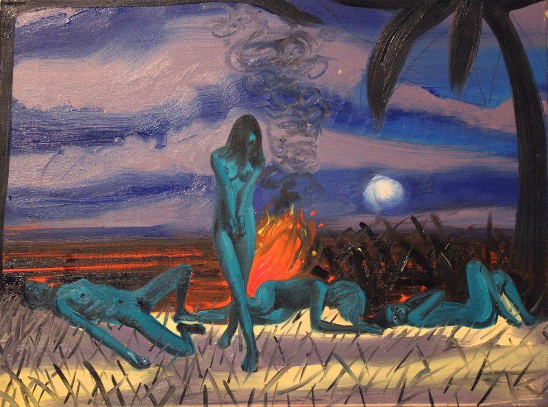 Dan Coombs   Wild Palms   2010   Oil on canvas   45cmx60cm