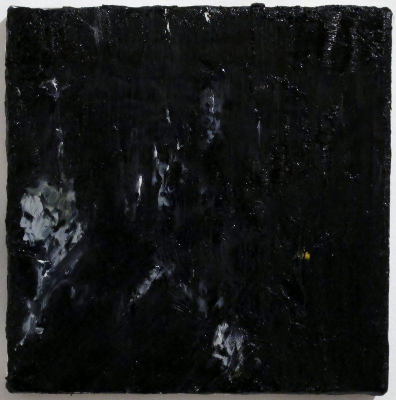 Luke Jackson | Time Regained | 2012 | Oil & mixed media on canvas | 21×20.5cm
