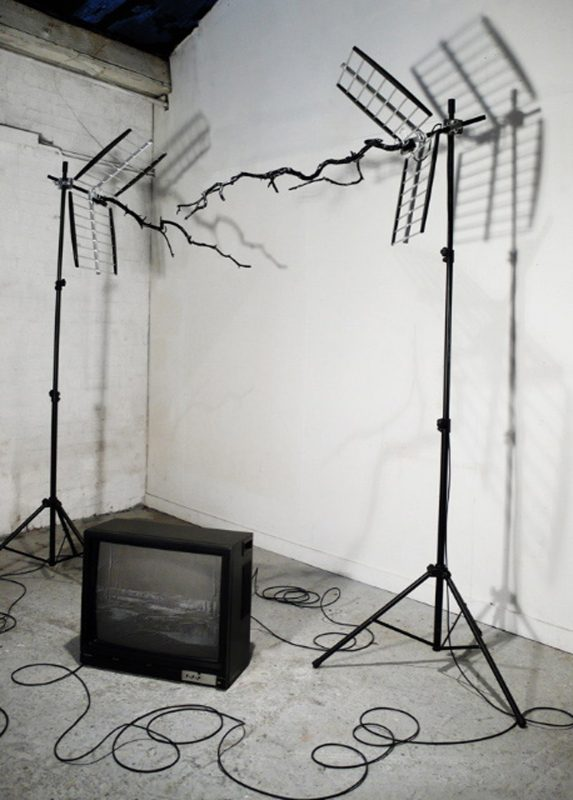 Monica Ursina Jager | News from Nowhere | 2009 | Mixed media | Dimensions variable