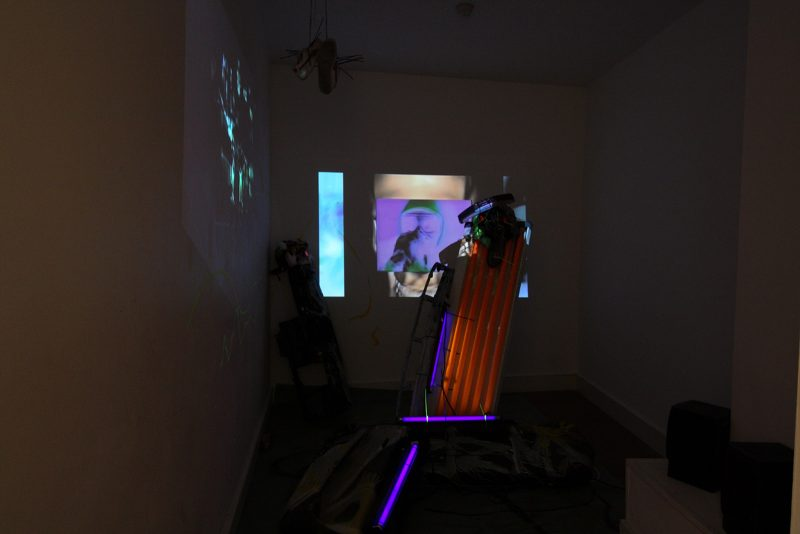 Alexis Milne   Your Eyes are Dead   2013   Video installation   Dimensions Variable