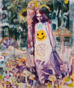 Dominic Shepherd | Baptism | 2012 | Oil on canvas | 35x30cm