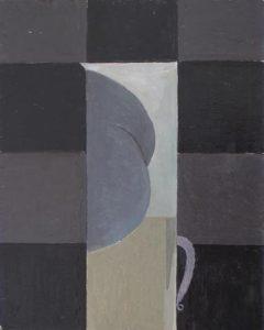 Paul Becker | Buttocks Vase | 2010 | Oil on zinc | 30x21cm