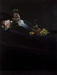 Emma Bennett | Deaths and Entrances | 2010 | Oil & French enamel on canvas | 170x130cm