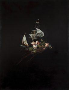 Emma Bennett | Always is Always Now | 2010 | Oil & French enamel on canvas | 170x130cm