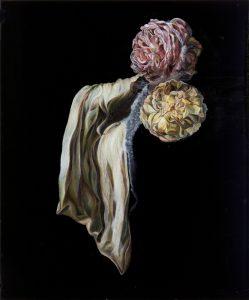 Emma Bennett | Slow Time | 2011 | Oil & French enamel on board | 30.4×25.4cm
