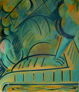 Kiera Bennett   Heap   2013   Oil on canvas   143x122cm